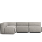 cleon medium sectional  - blu dot
