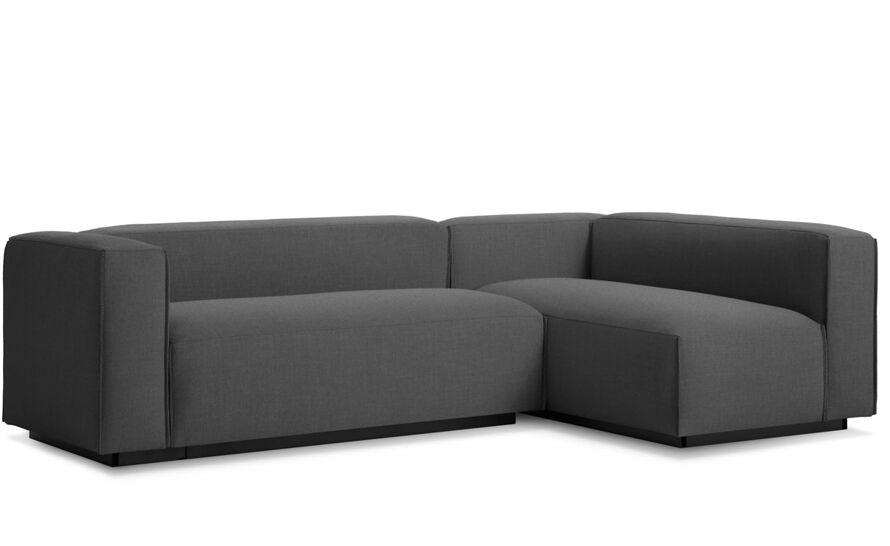 blu dot cleon small sectional sofa