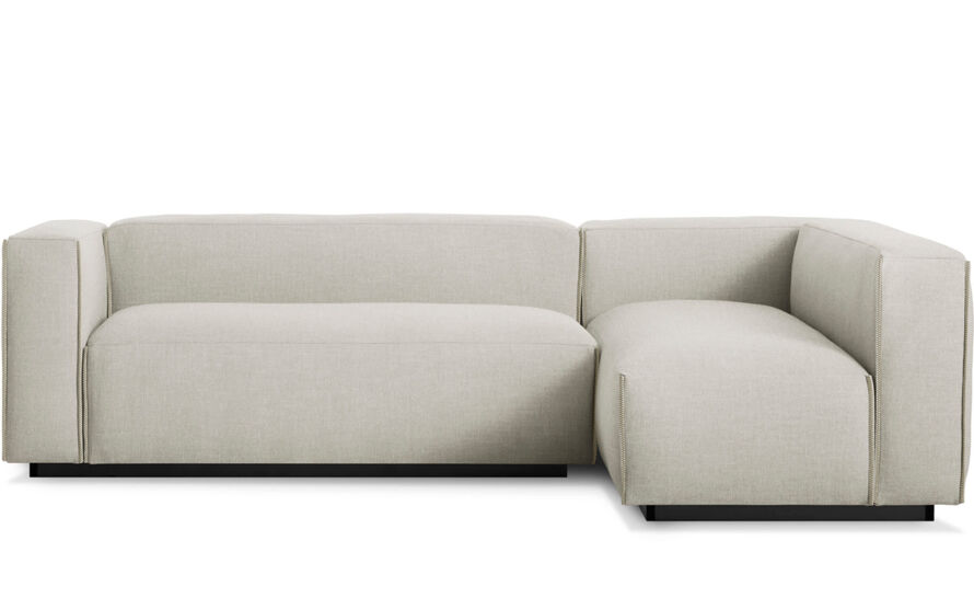 Cleon Small Sectional Sofa Hivemodern Com