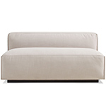 cleon unarmed sofa  - blu dot