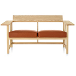 clerici two seat bench - Konstantin Grcic - mattiazzi