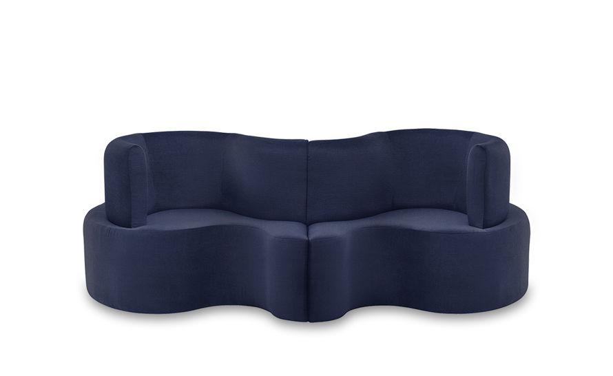 panton cloverleaf 2 unit sofa