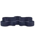 panton cloverleaf 3 unit sofa  -