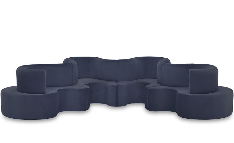 Panton Cloverleaf 4 Unit Sofa