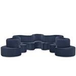 panton cloverleaf 5 unit sofa  -