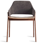 clutch leather chair  - blu dot