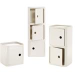 componibili square module - A.c. Ferrieri - Kartell