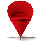 verner panton cone chair  -