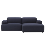 connect 92inch sofa with chaise - Anderssen & Voll - muuto