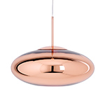 copper wide pendant lamp  -