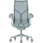 cosm high back task chair dipped in color  -