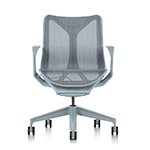 cosm low back task chair dipped in color  -