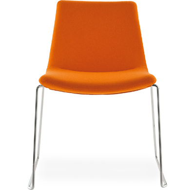 cosmos sled base side chair