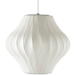 nelson bubble lamp crisscross pear - George Nelson - Herman Miller