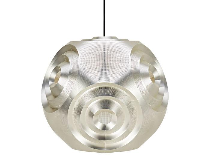 curve ball suspension lamp