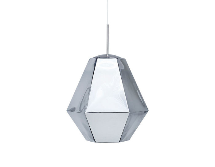 cut tall suspension lamp