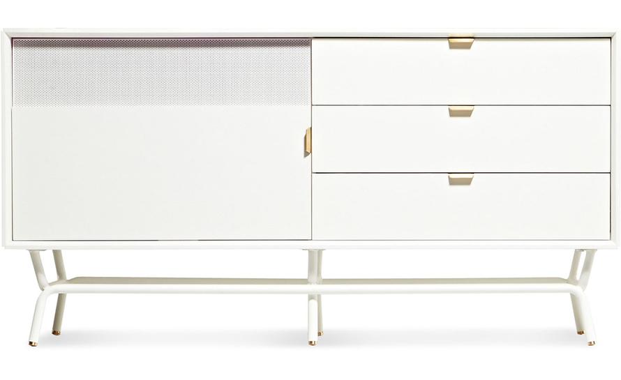 dang 1 door / 3 drawer console