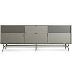 dang 2 door / 2 drawer console  - blu dot