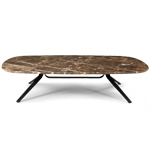 dante rectangular coffee table  - Montis