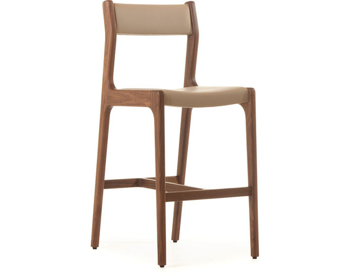 deer armless bar stool 219