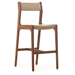 deer armless bar stool 219  -