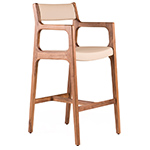 deer barstool 219s with arms  -
