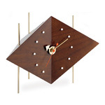 nelson diamond clock - George Nelson - vitra.