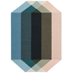 diamond rug  -