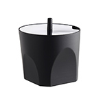 diana sugar bowl by mario trimarchi for alessi