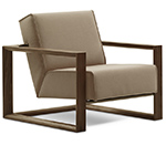 dickens lounge chair  - Montis