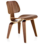 eames® molded plywood dining chair dcw  -