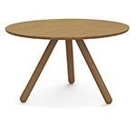 montis disq round dining table