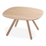 montis disq square dining table