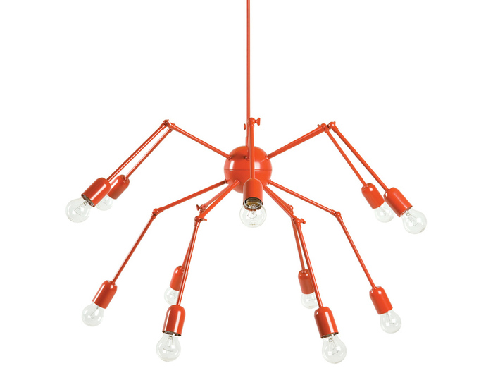 double octopus suspension lamp 224d