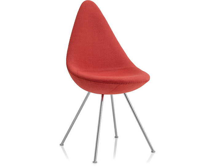 drop chair upholstered