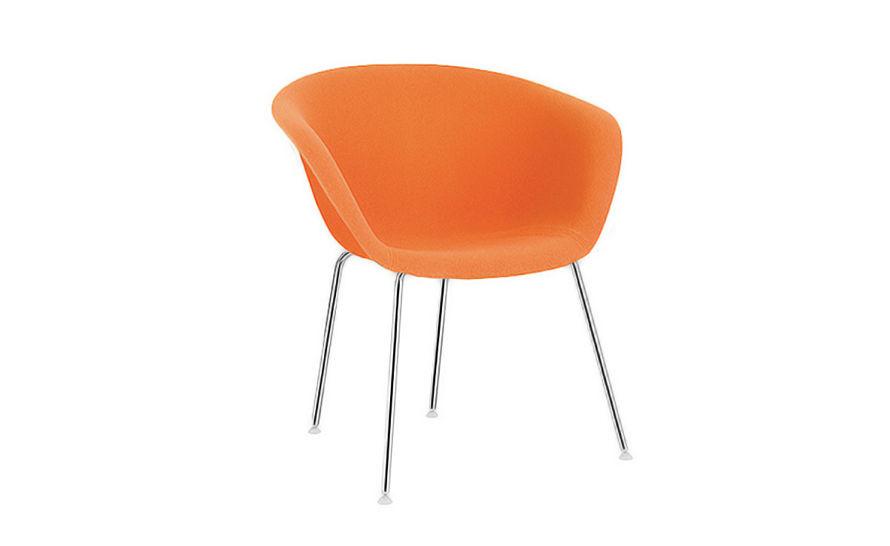 duna 02 four leg chair fully upholstered