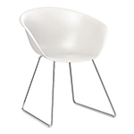 duna 02 sled base polypropylene chair  -