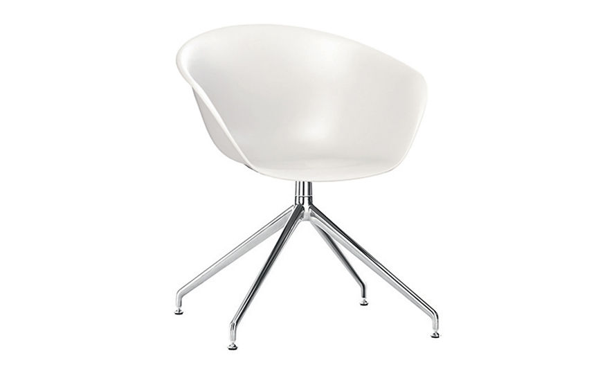 duna 02 polypropylene chair with trestle base