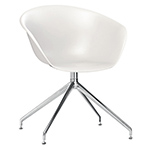 duna 02 trestle base polypropylene chair - Altherr & Molina Lievore - arper