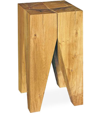 e15 backenzahn stool or side table