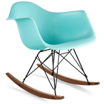 eames® molded plastic armchair with rocker base - Eames - Herman Miller