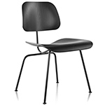 eames® molded plywood dining chair dcm  -