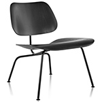 eames® molded plywood lounge chair lcm  -
