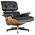 eames® lounge chair without ottoman  -