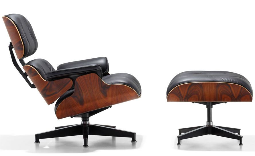 eames lounge chair ottoman charles and ray eames herman miller. Black Bedroom Furniture Sets. Home Design Ideas