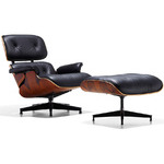eames® lounge chair & ottoman  -