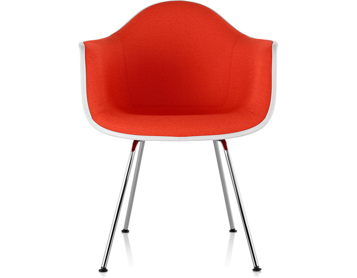 Eames 174 Upholstered Armchair With 4 Leg Base Hivemodern Com
