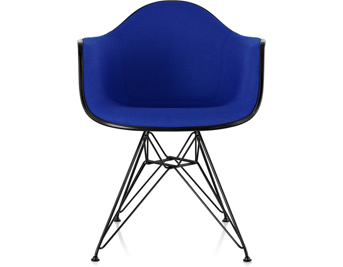 Superbe Eames® Upholstered Armchair With Wire Base