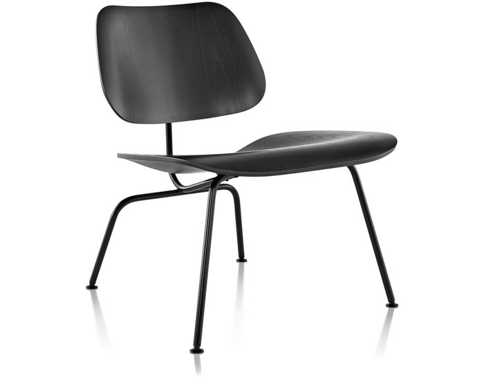 Eames® Molded Plywood Lounge Chair Lcm - hivemodern