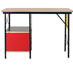 eames open storage desk unit  -